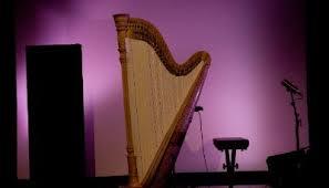 Avslutning tom harpe